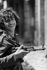 Lebanese civil war. A Young Christian militiaman. Beirut (Lebanon), January 1976. © Françoise Demulder / Roger-Viollet