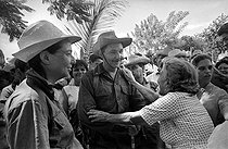 Cuba. Raúl Castro among the East countrymen of the country. About 1960. © Gilberto Ante/Roger-Viollet