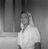 """La Bonne Tisane"", film de Hervé Bromberger. Stéphane Audran. France, 28 août 1957.  © Alain Adler / Roger-Viollet"