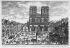 Notre-Dame de Paris au XVIIIème siècle. © Albert Harlingue / Roger-Viollet
