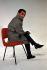 Charles Aznavour (1924-2018), Armenian-born French singer-songwriter and actor. Paris, November 1958. © Bernard Lipnitzki / Roger-Viollet