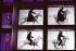 """""""La Damnation de Faust"""", opéra d''Hector Berlioz d''après Goethe. Mise en scène : Robert Lepage. Décors : Carl Fillion. Costumes : Karin Erskine. Direction musicale : Seiji Ozawa. Costumes : Karin Erskine. Guiseppe Sabbatini (Faust), José Van Dam (Mephistopheles). Paris, Opéra Bastille, juin 2001. © Colette Masson/Roger-Viollet"""