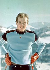 Le prince Albert de Monaco (né en 1958), en vacances au ski. Gstaad (Suisse). Photo : Paul Leyton. © Paul Leyton / TopFoto / Roger-Viollet
