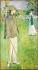 """Jacques-Emile Blanche (1861-1942). """"Portrait en pied de Jean Cocteau à Offranville"""", 1912. Rouen, musée des Beaux-Arts.   © Roger-Viollet"""