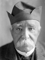 Georges Clemenceau (1841-1929), French statesman, as an old man. Saint-Vincent-sur-Jard (France). © Henri Martinie / Roger-Viollet