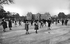 Diabolo players in the Luxembourg park. Paris (VIth arrondissement), circa 1900. © Neurdein/Roger-Viollet