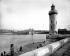 The Sainte-Marie lighthouse and the Notre-Dame de la Garde basilica. Marseilles (France). © Neurdein/Roger-Viollet
