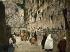 Le mur des Lamentations. Jérusalem (Palestine, Israël), vers 1880-1890. Photochrome. © Roger-Viollet