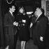 Jean-Marie Périer, Françoise Hardy and Bruno Coquatrix at the Olympia. Paris, December 1963. © Studio Lipnitzki / Roger-Viollet