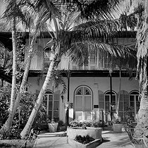 Ernest Hemingway's house turned into a national museum. Key West (Florida), United States. © Roger-Viollet