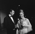 """Tournage de """"Climats"""", film de Stellio Lorenzi. Jean-Pierre Marielle et Marina Vlady. France, 27 août 1961. © Alain Adler / Roger-Viollet"""