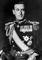 Louis, Earl Mountbatten of Burma (1900-1979), British Admiral and last Viceroy of India. © Albert Harlingue / Roger-Viollet