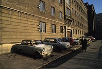 Premises of the Stasi central archives. Berlin (Germany), 1992. © Jean-Paul Guilloteau/Roger-Viollet
