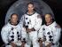 Equipage américain de la mission Apollo 11. Neil Armstrong (1930-2012), Michael Collins (né en 1930) et Buzz Aldrin (né en 1930), astronautes. 1969. © TopFoto/Roger-Viollet