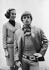 Rudolf Noureïev (1938-1993), danseur russe, avec sa manager, Joan Thring. Londres (Angleterre), South Kensington, 5 mai 1965.  © Colin Jones/TopFoto/Roger-Viollet