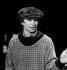 """Rudolf Noureïev (1938-1993), danseur soviétique, à la création de son ballet """"Manfred"""", au Palais des Sports. Paris, novembre 1978. © Anne Salaün/Roger-Viollet"""