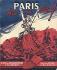 """Guerre 1939-1945. """"Paris brise ses chaînes"""", ouvrage anglais de Georges Fronval sur la Libération de Paris. Couverture illustrée par Brantonne. Paris, septembre 1944. © Roger-Viollet"""