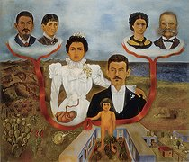 July 13, 1954 (65 years ago) : Death of Frida Kahlo (1907-1954), Mexican painter