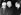 John F. Kennedy, Harry Truman et Dwight D. Eisenhower, hommes d'Etat américains, assistant aux obsèques d'Eleanor Roosevelt dans la maison familiale de Hyde Park. New York (Etats-Unis), 11 novembre 1962. © TopFoto / Roger-Viollet