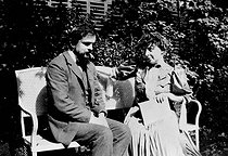 Claude Debussy (1862-1918), French composer, with his wife Emma, 1905. © Roger-Viollet