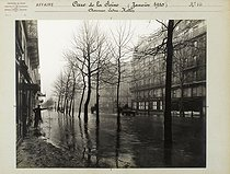 Floods in Paris. Avenue Ledru-Rollin (XIth arrondissement). Anonymous photograph (Criminal Records Office). January 1910. Paris, musée Carnavalet. © Musée Carnavalet/Roger-Viollet
