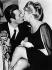"""La Dolce Vita"", film de Federico Fellini. Marcello Mastroianni et Anita Ekberg. Rome (Italie), 27 juin 1959. © TopFoto/Roger-Viollet"
