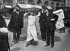 Parisians looking at a solar eclipse,on  April 17, 1912. © Maurice-Louis Branger/Roger-Viollet