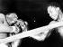 Combat en onze rounds entre Buster Mathis (1943-1995) et Joe Frazier (1944-2011), boxeurs américains. New York (Etats-Unis), Madison Square Garden, 5 mars 1968. © TopFoto / Roger-Viollet