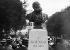 "Bust of Charles Gounod (1818-1893), French composer, inaugurated during the ""Fêtes de Mireille"", Provençal celebration. Saint-Rémy-les-Chevreuse (France), on September 7, 1913. © Maurice-Louis Branger / Roger-Viollet"