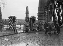 World War One. Kehl bridge. Alsatians repatriated from Germany. Strasbourg (France), November 1918. © Maurice-Louis Branger/Roger-Viollet