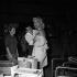 "Maquillage de Mylène Demongeot lors du tournage du film ""Le Vent se lève"" d'Yves Ciampi. France-Italie, 1958. © Alain Adler / Roger-Viollet"