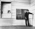 Patrick Heron (1920-1999), peintre anglais, 1963.  © Jorge Lewinski / TopFoto / Roger-Viollet