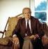 "Jean Daniel (1920-2020), French journalist and manager of ""Le Nouvel Observateur"" magazine, 1986. © Kathleen Blumenfeld / Roger-Viollet"