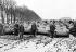 Guerre 1939-1945. Présentation de chenillettes de transport Renault V.E. France. Mars 1940.    © Roger-Viollet