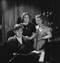 Yehudi Menuhin (1916-1999), Russian-born American violinist and conductor, with his sisters Hephzibah Menuhin (1920-1981), American pianist, and Yaltah Menuhin (1921-2001), American-born British writer and pianist, February 1936. © Boris Lipnitzki / Roger-Viollet