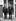 Louis Mountbatten (comte Mountbatten de Birmanie, 1900-1979), et son neveu, le prince Philip (né en 1921), duc d'Edimbourg, devant les baraquements des Royal Marines. Eastney, dans les environs de Portsmouth (Angleterre), 27 octobre 1965. © PA Archive / Roger-Viollet