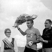Jacques Anquetil (1934-1987), French racing cyclist, winner of the 1964 Tour de France. © Roger-Viollet