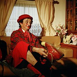 Moreno Bormann circus. Jean aka Titi Moreno, circus artist, in his dressing room. 1992. © Kathleen Blumenfeld/Roger-Viollet