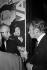 Bruno Coquatrix et Lucien Morisse. Paris, Olympia, 1962.   © Roger-Viollet