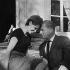 "Shooting of ""Le Diable et les Dix Commandements"", film by Julien Duvivier (1962). Mel Ferrer and Françoise Arnoul. France-Italy, on May 17, 1962. © Alain Adler / Roger-Viollet"