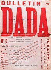 Frontispice du Bulletin Dada n°6. Paris, février 1920. Galerie Pictogramma à Rome.      © Alinari/Roger-Viollet