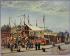 C. Bussilliet (floruit in the late 19th century). Wrestler Dubois' house, Boulevard de la Villette. Oil on wood, 1870. Paris, musée Carnavalet. © Musée Carnavalet / Roger-Viollet