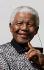 Nelson Mandela (1918-2013), homme d'Etat sud-africain, assistant à l'inauguration de sa statue sur Parliament Square. Londres (Angleterre), 29 août 2007. © Lewis Whyld / TopFoto / Roger-Viollet