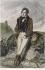 After Jean-François Gigoux (1806-1894). Portrait of François-René de Chateaubriand (1768-1848), French writer and politician. Engraving. © Roger-Viollet
