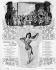 """Myriel et les artistes du spectacle """"Venise"""" de la Revue des Folies-Bergère. Février 1903.      © Roger-Viollet"""