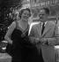 Jean Delannoy et Madeleine Robinson. Festival de Venise, 1950. © Boris Lipnitzki/Roger-Viollet