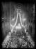 """Messe à la mémoire du pape Pie XI Ambrogio Damiano Achille Ratti (1857-1939) à la cathédrale Notre-Dame de Paris. Paris, (IVème arr.), février 1939. Photographie du journal """"Excelsior"""". © Excelsior - L'Equipe / Roger-Viollet"""