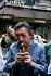 Serge Gainsbourg (1928-1991), chanteur et compositeur français. Paris, 1985.   © Roger-Viollet
