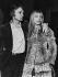 Claude François (1939-1978), French singer, and Isabelle. France, circa 1970. © Roger-Viollet