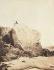 Victor Hugo sur le Rocher des Proscrits. Photographie de Charles Hugo. Jersey, été 1853. Paris, Maison de Victor Hugo.  © Charles Hugo / Maisons de Victor Hugo / Roger-Viollet
